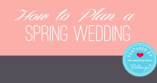 Spring wedding guide by Bellenza!