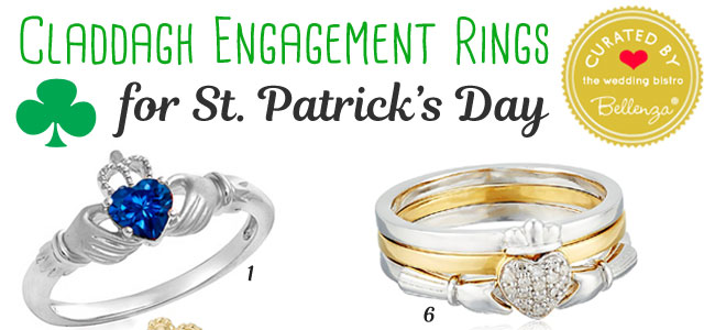 Claddagh Ring Finds // Curated by Bellenza.