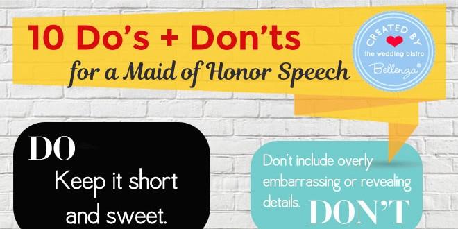 Tips for moh speech