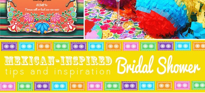 Mexican Bridal Shower Theme Inspiration from Bellenza.