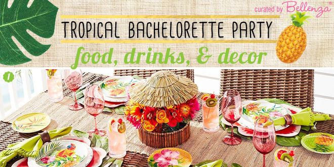 how to plan a tropical bachelorette party with a brazilian twist
