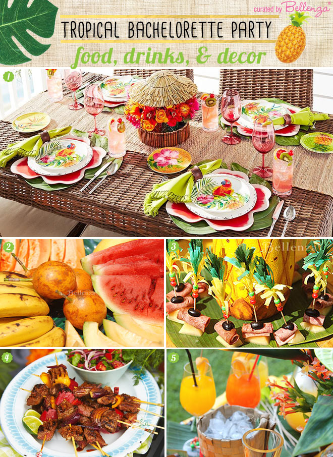 Brazilian-inspired Bachelorette Party Ideas--Decor to Food