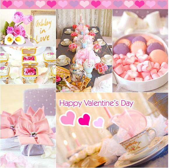 Valentine's bridal shower ideas
