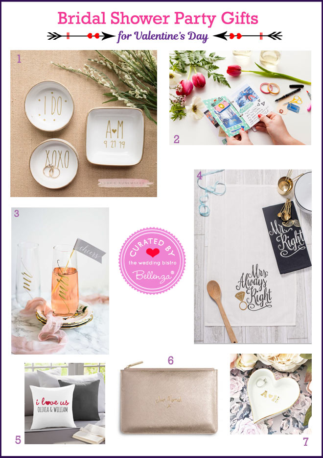 Valentine's Bridal Shower Gifts