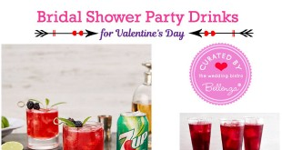 Fun Valentine's Bridal Shower Ideas