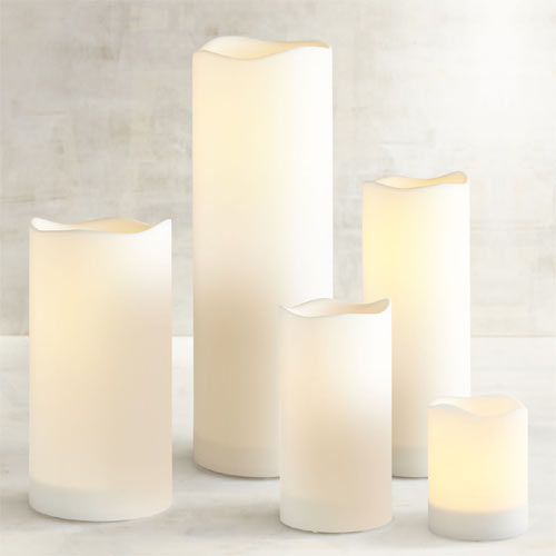 Outdoor LED Pillar Candles from Deco Wick™.