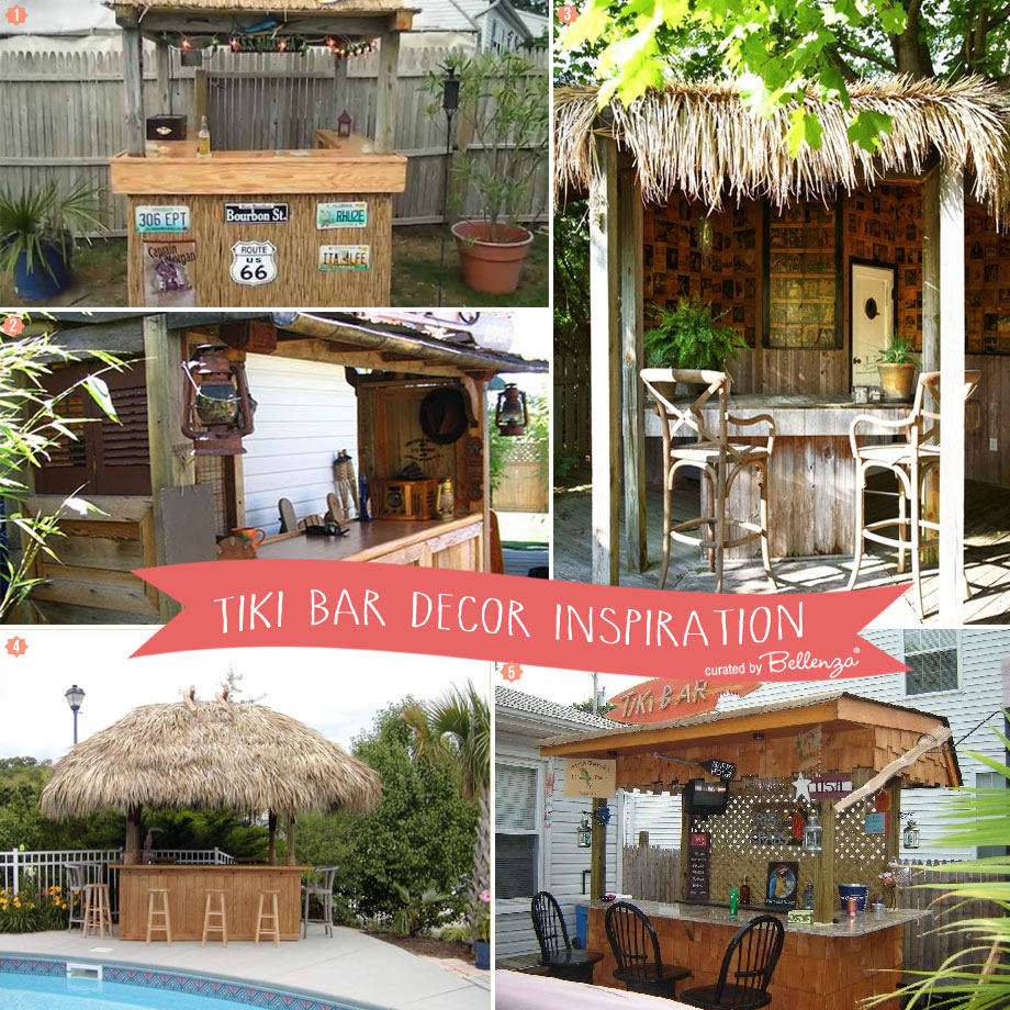 Decorating Ideas for a Backyard Tiki Bar
