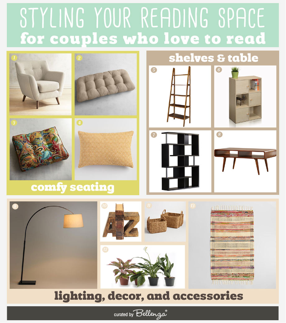 Book Lover Basics to Style Your Home Reading Space