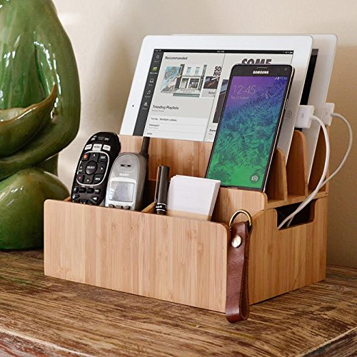 Bamboo Charging Station from MobileVision via Amazon