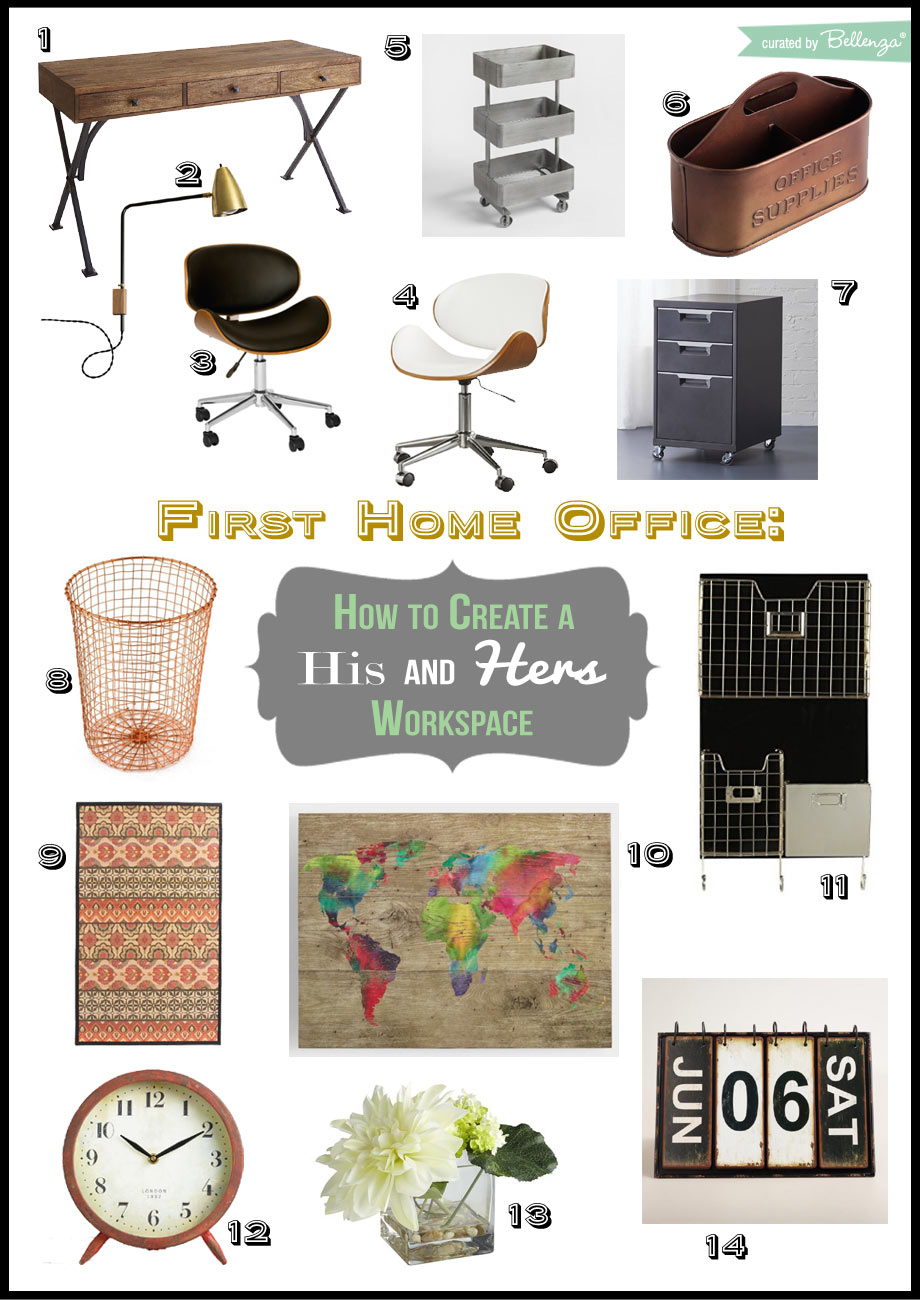 Elements for Setting Up Your First Home Office