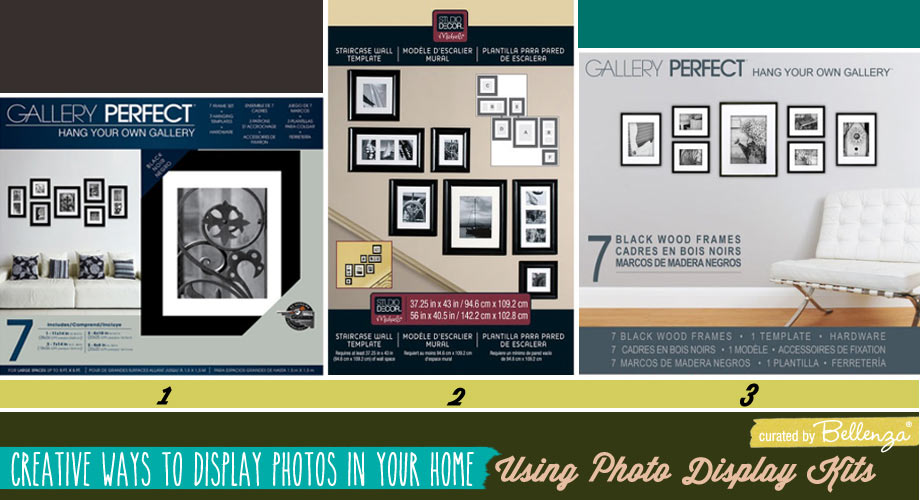 Photo Display Kits with Templates