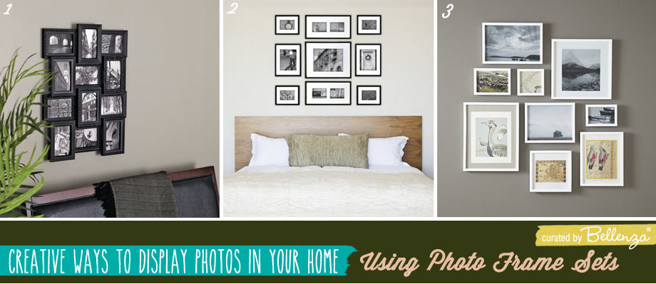 Using photo-frame-sets for displaying pictures.