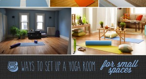 easy diy ideas for creating a yoga room in a small home