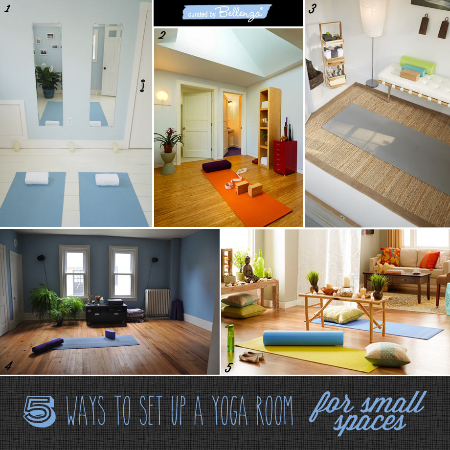5 Doable, DIY Ideas for Creating Your Own Yoga Space in a Small House
