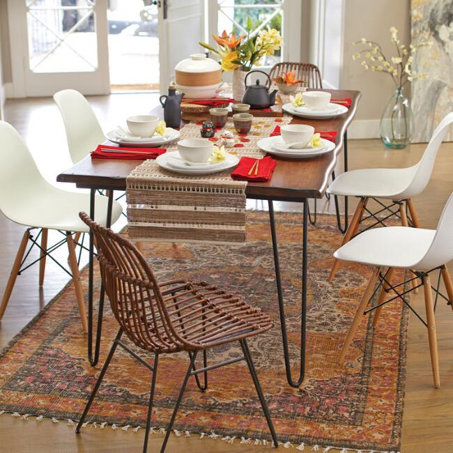 Hairpin Dining Table via World Market