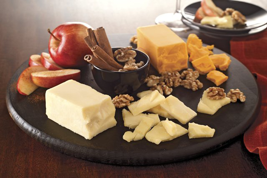 5 - Cinnamon, Apple, and Cheddar Cheese Board from Kraft Recipes