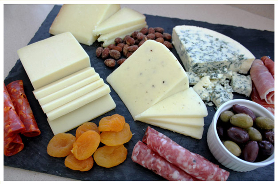 7 - Crowd Pleaser Cheese Platter from Trader Joe's