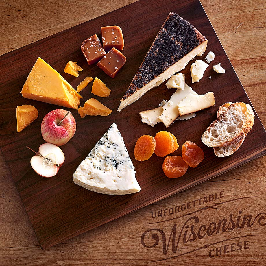 1 - Fall Cheese Board from Wisconsin Cheese Talk