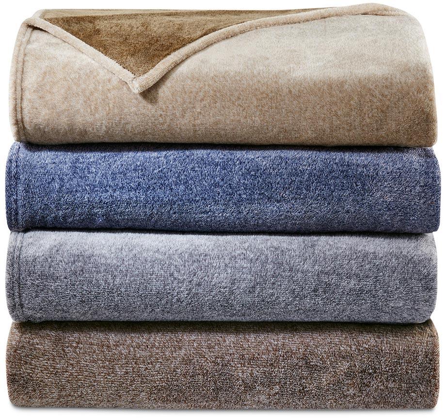 Plush blankets via Macy's