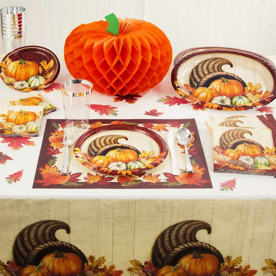 Autumn Bounty Thanksgiving Tableware