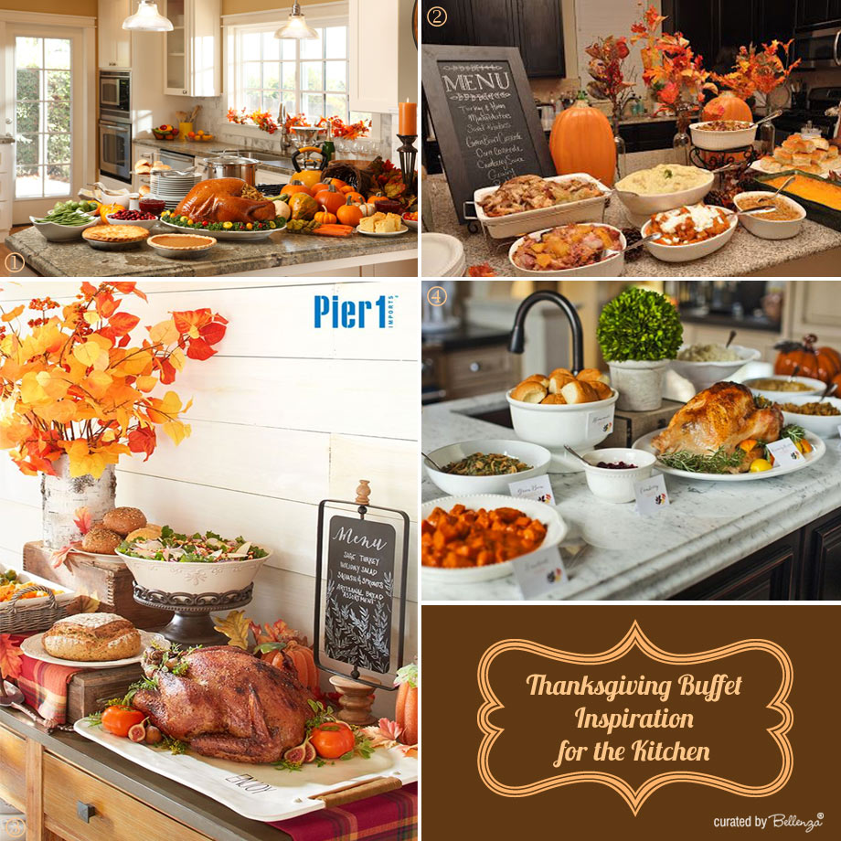Thanksgiving Buffet Inspiration for the Kitchen