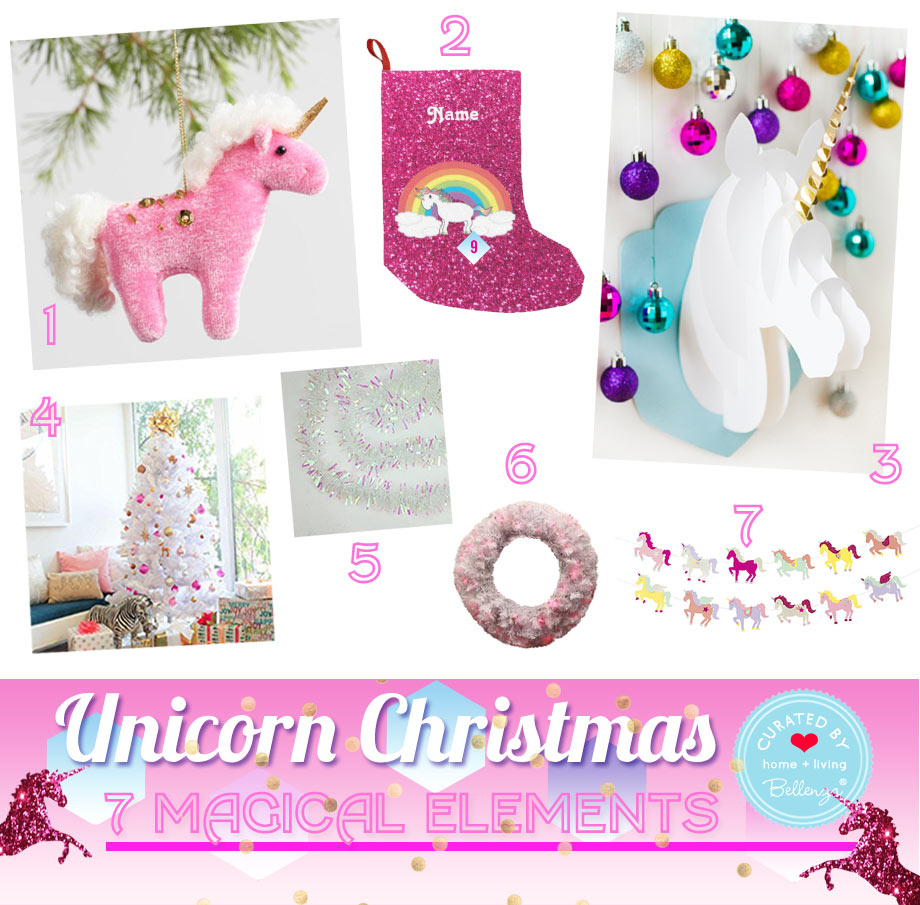 Unicorn Christmas Decorations for Your Home