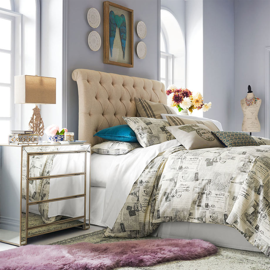 Mod-Luxe-Style in Luxurious Fabrics