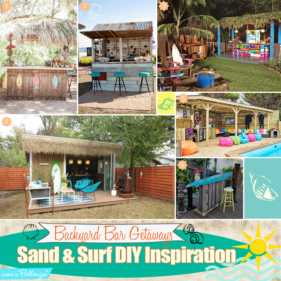 6 Creative Ideas to Bring the Beach to Your Backyard Bar