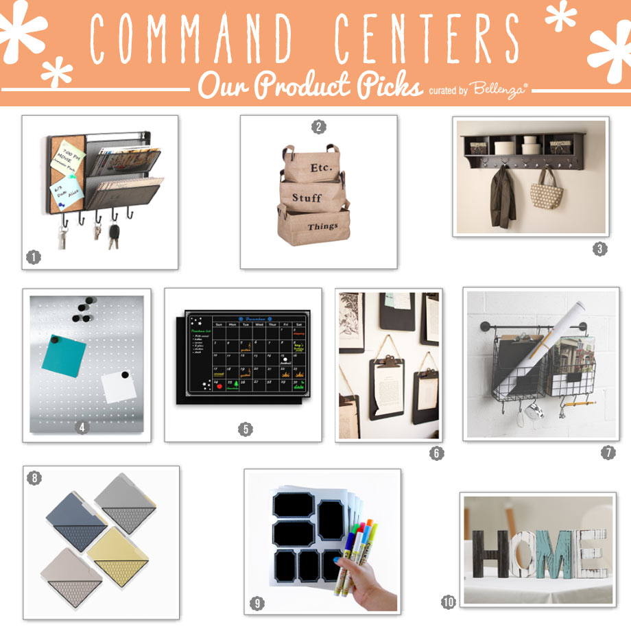 Must-Haves and Product Picks to Create Your Command Center