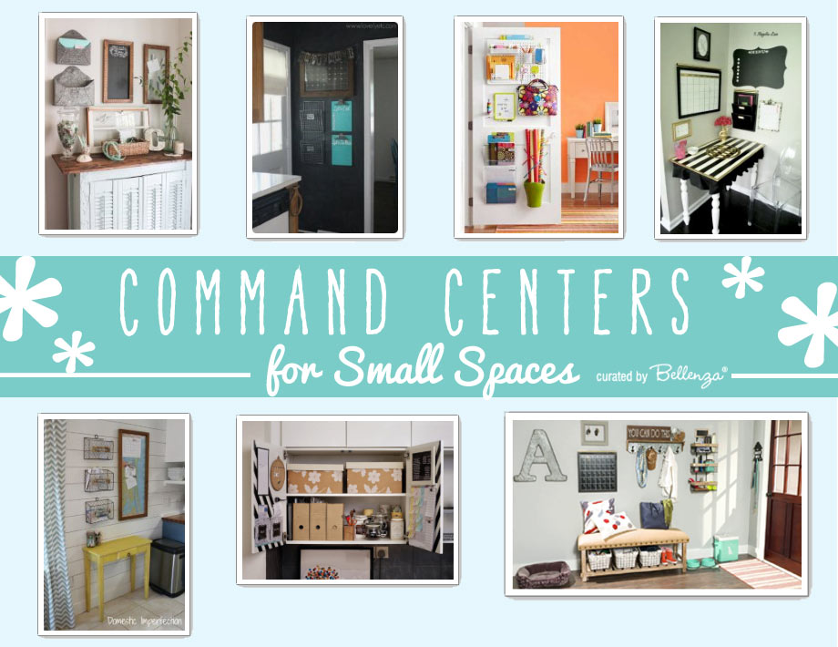 Inspiration for Command Centers in a Small Home