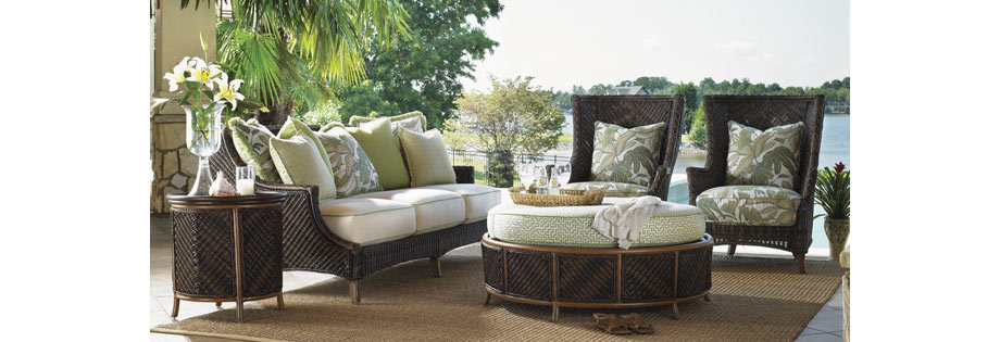 lanai sofa via wayfair from tommy bahama