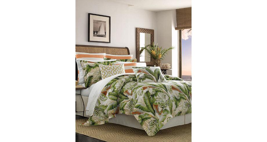 tropical prints bedding via macy's