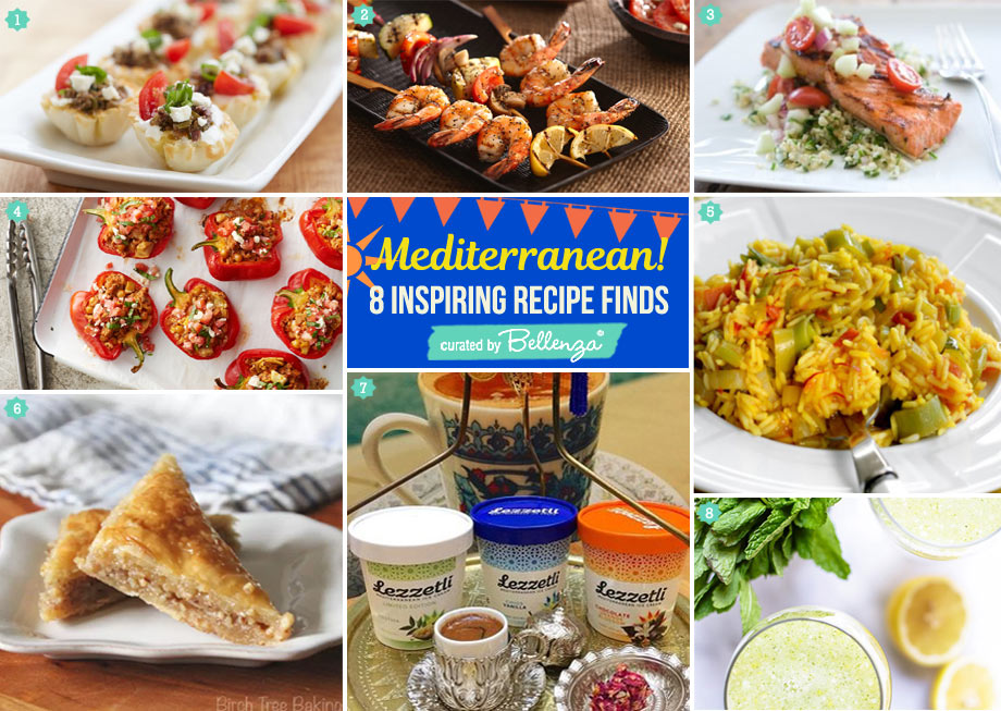 Mediterranean-inspired seafood BBQ party menu t