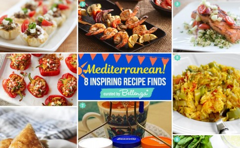 Mediterranean Seafood BBQ Party Food