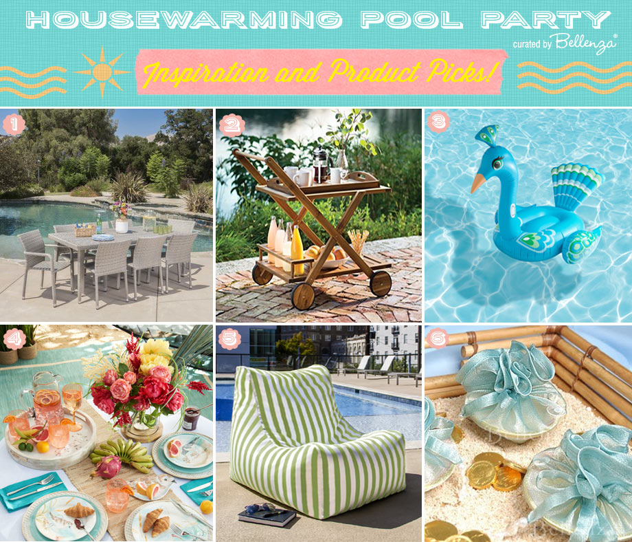 Ideas for Hosting a Housewarming Pool Party this Summer
