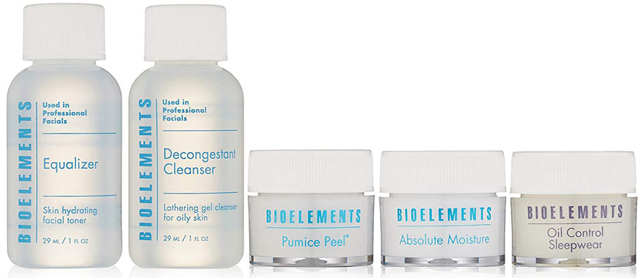 Bioelements travel kit