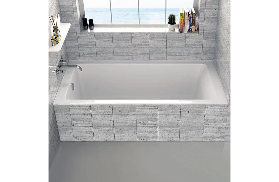 "BT104L-BT Alcove 30"" x 60"" Bathtub"