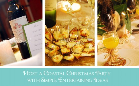 Coastal Christmas with Seafood Appetizers