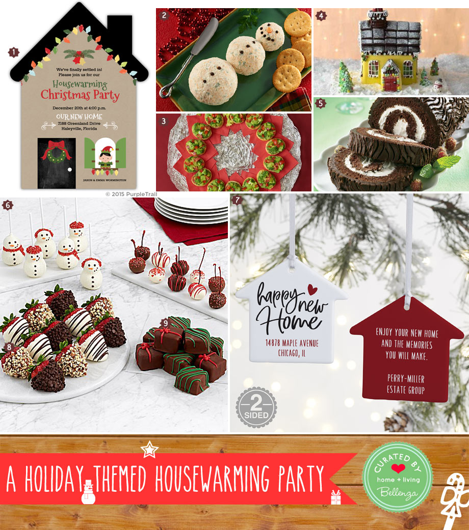 New Home Holiday Open House Party Easy Recipes and Treats