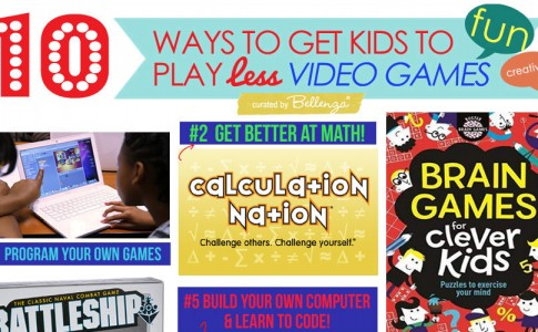 Creative Ways to Get Kids to Play Less Video Games