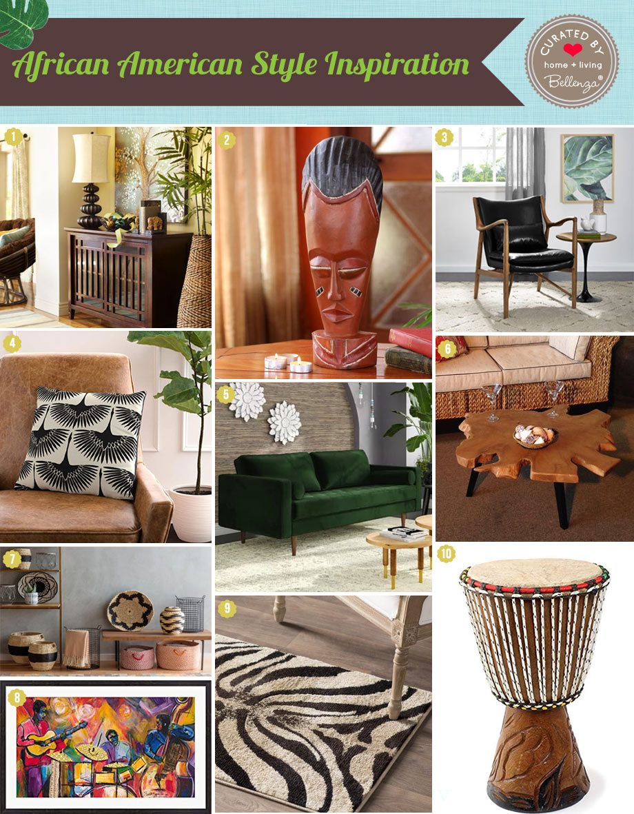 Curated picks for African American Styling Inspiration for the Home