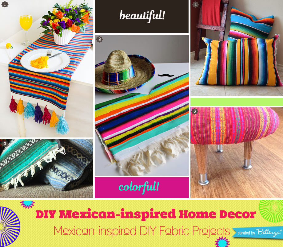 Mexican-inspired DIY Fabric Projects
