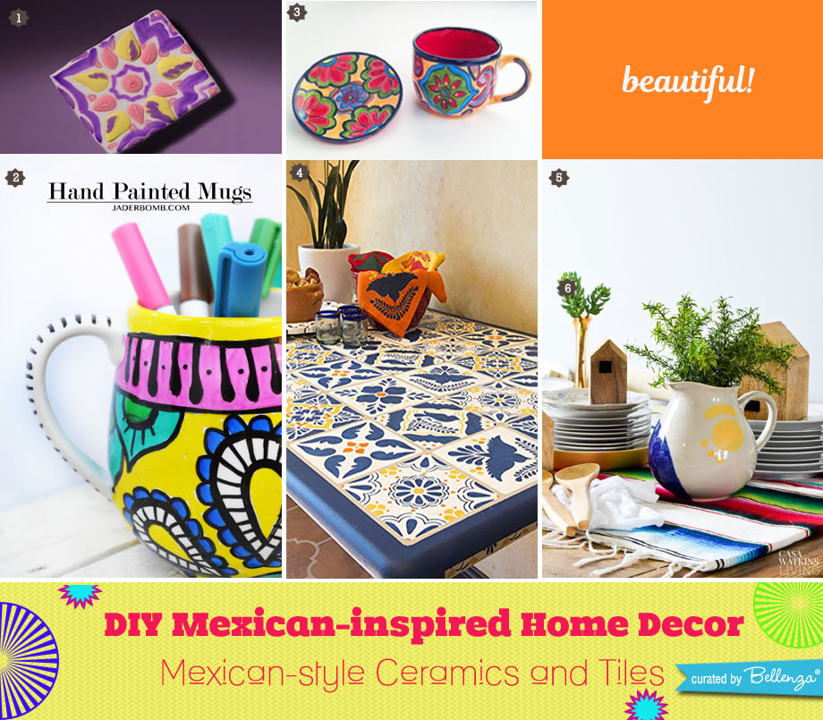 Mexican-style Ceramics and Tiles