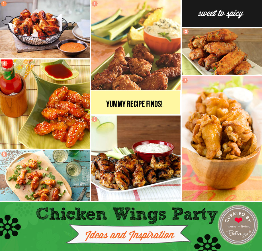 Chicken wings recipe finds