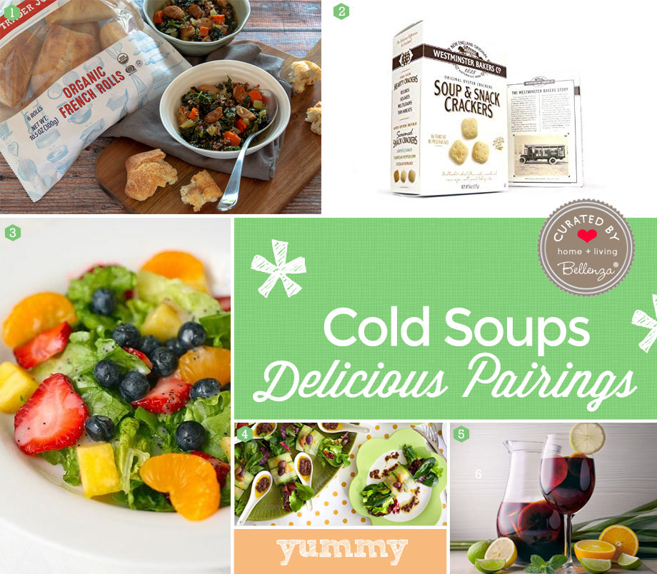 What to Serve with Cold Soups