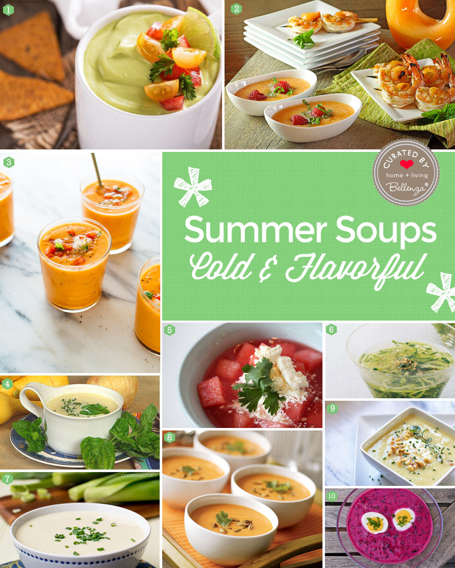 Cold Soup Recipes for Easy Summer Entertaining