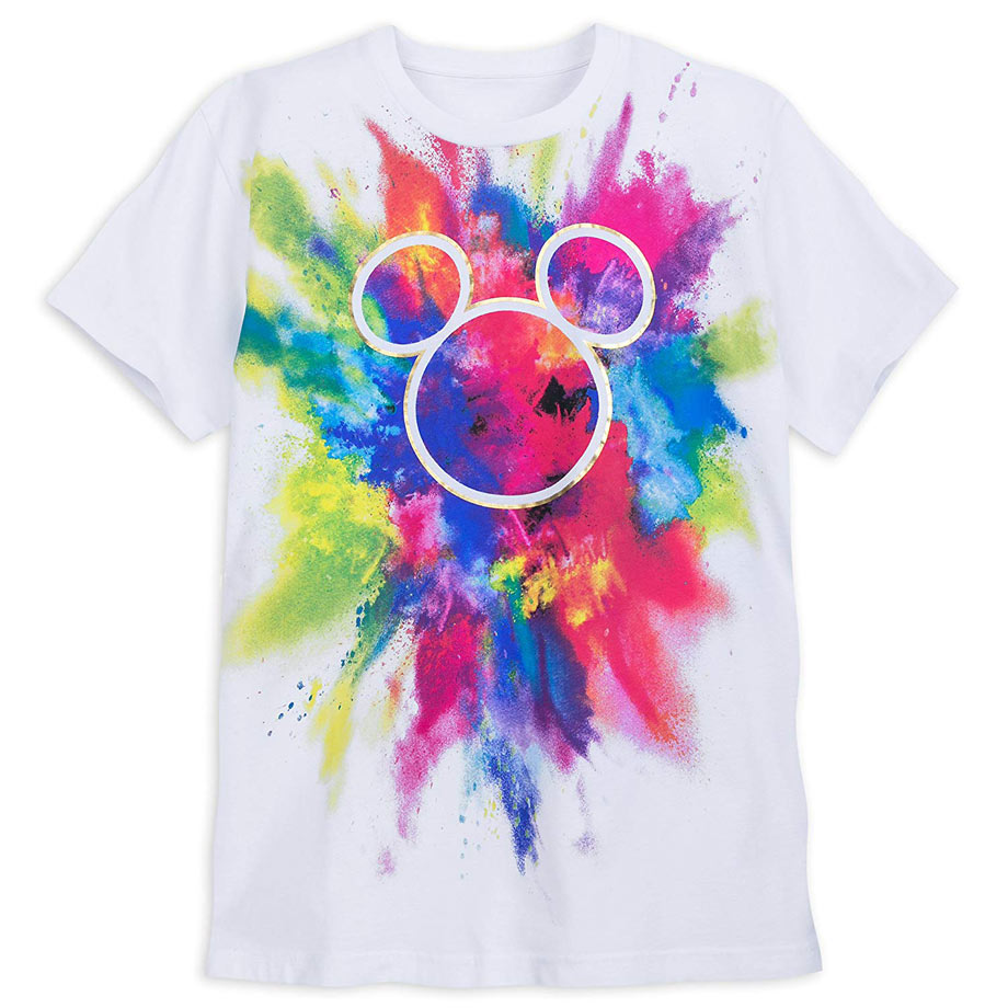 Mickey Rainbow Tie-dye Shirt