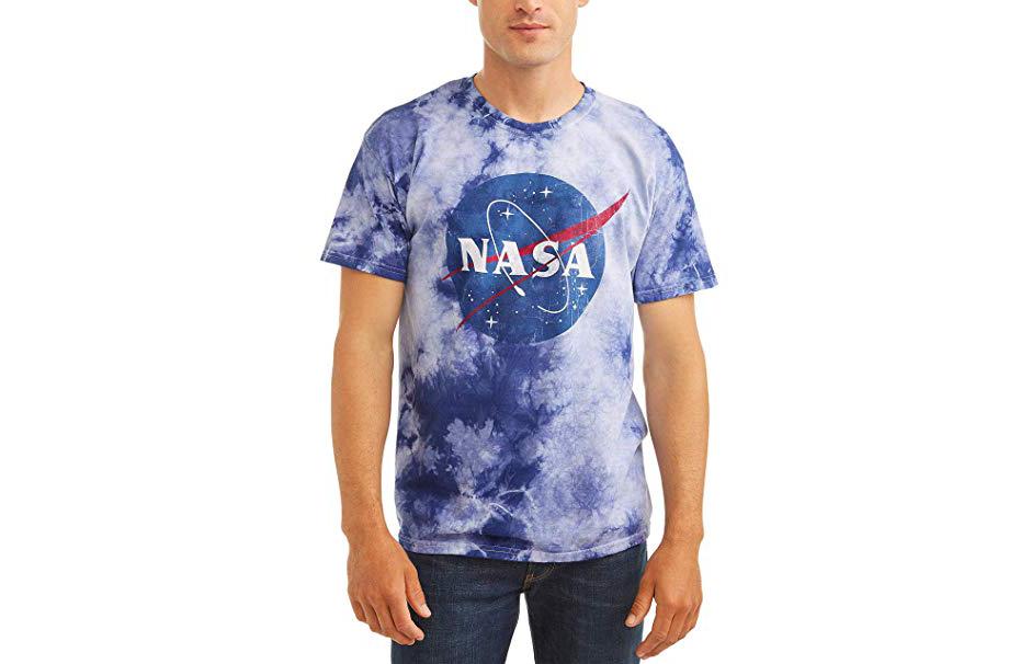 NASA tie-dye tee