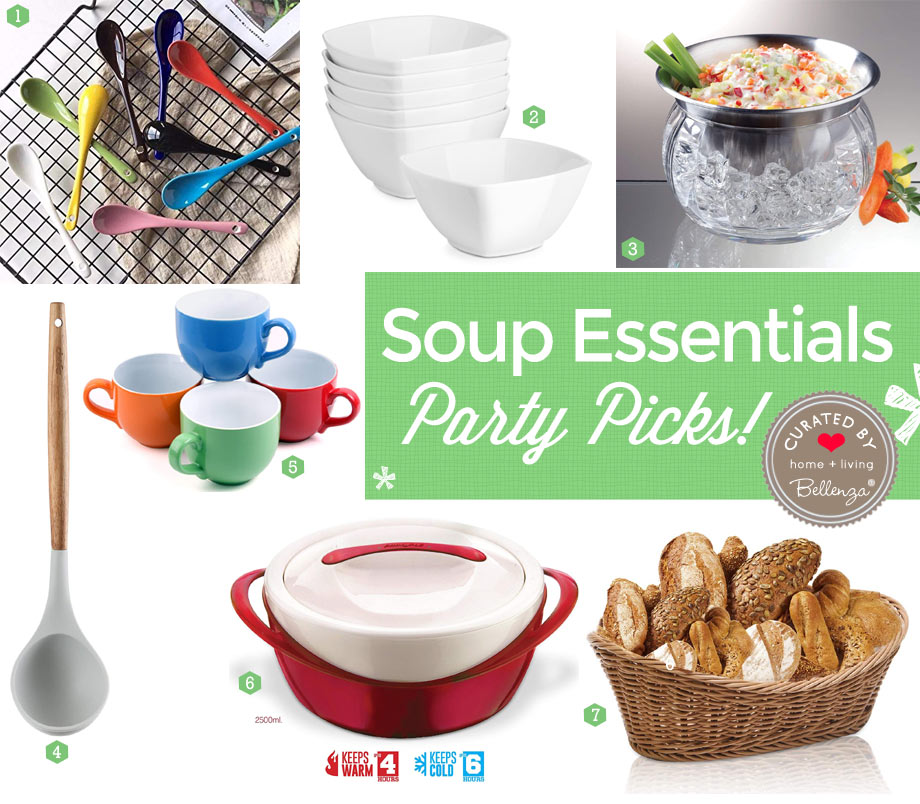 Cold Soup Party Supplies