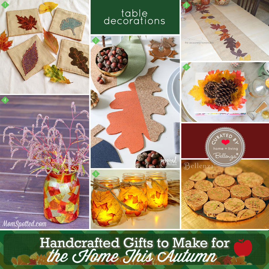 fall themed gifts that are handmade